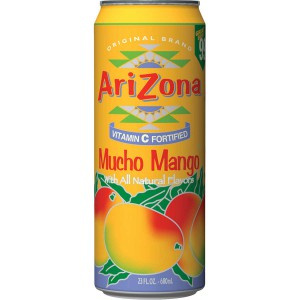 Fruit Juice Cocktail Mucho Mango, Arizona 24/680 Ml