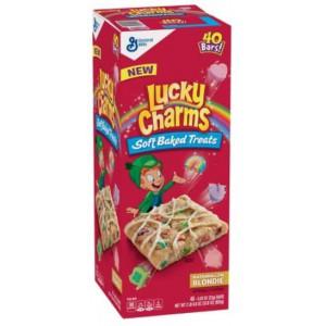 Lucky Charms treats, blondies 40un/23 Gr