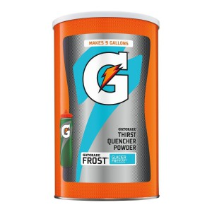 Gatorade Glacier Freeze En Polvo, Drink Mix, 2,7 Kg