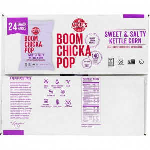 Angie's Boom Chicka Pop Kettle Corn, Sweet & Salty