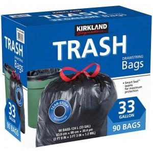 Bolsa de basura Kirkland  90 Unid.