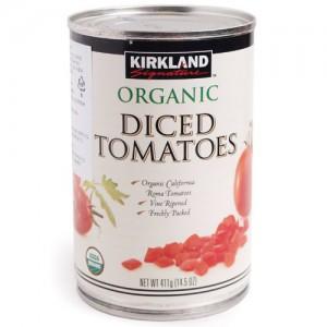 Kirkland Signature Organic Diced Tomatoes 411g