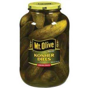 Mt. Olive Kosher Petite Dills.