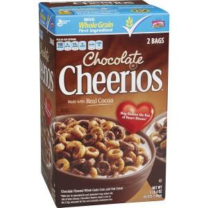Chocolate Cheerios Cereal, General Mills 1.02 Kg