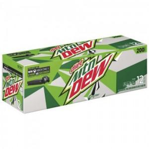 Diet Mountain Dew Soda, 12*355ml