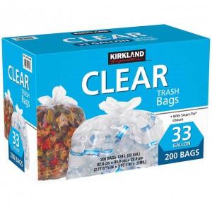 Kirkland Clear, Bolsas de Basura 200 Unidades