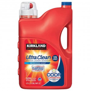 Detergente Líquido Kirkland Ultra Clean 126 Lavados.