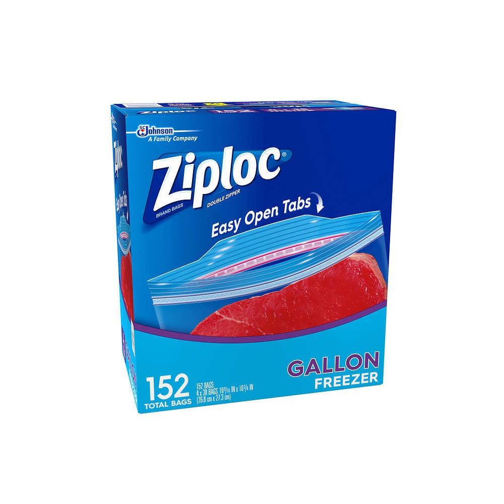 Ziploc Freezer Gallon