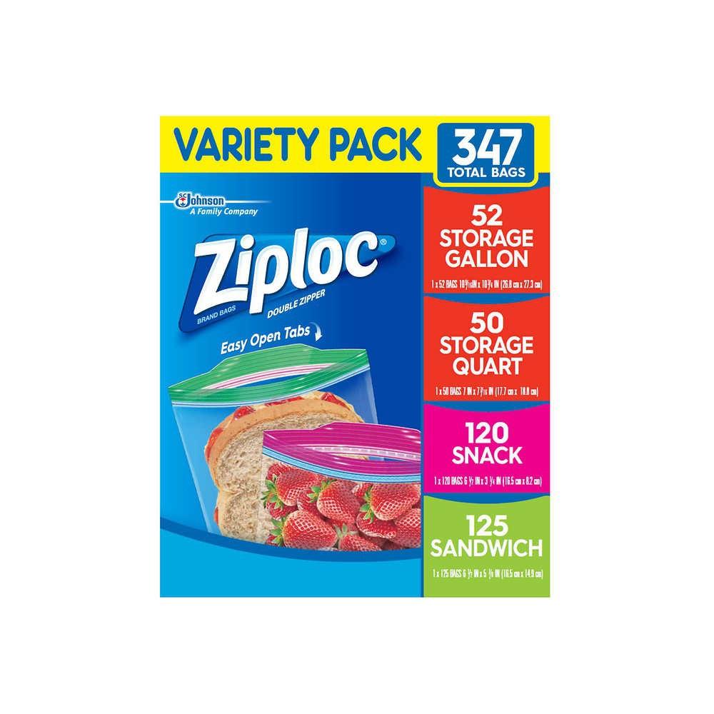 Bolsa Ziploc variedades  Pack 347 Unid.