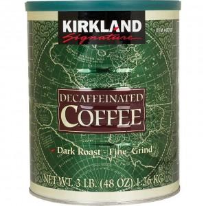 Café Descafeinado Kirkland Signature