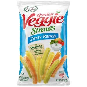 Bolsita de Snacks Veggie Straws con Salsa Zesty Ranch
