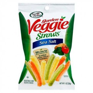 Snack Veggie Straws Sea Salt, Sensible Portions Unidad
