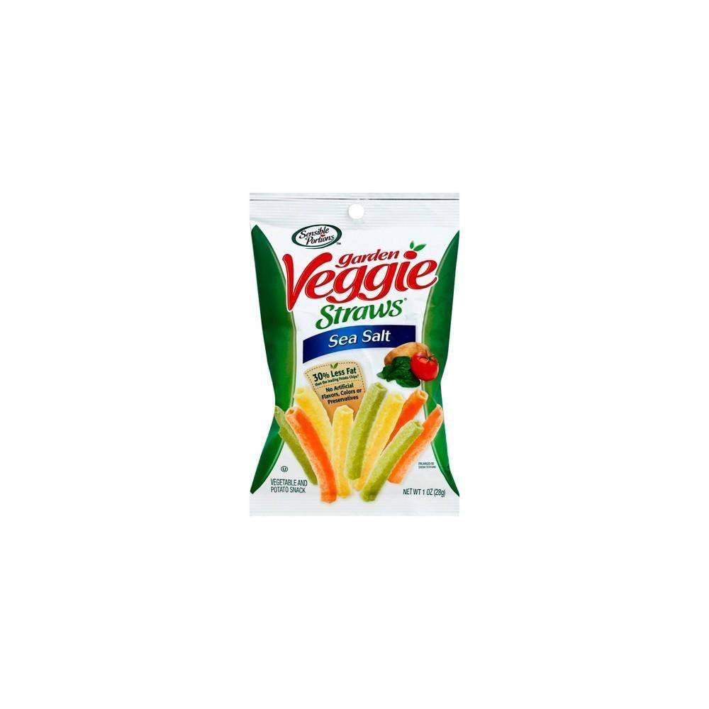 Snack Veggie Straws Sea Salt, Sensible Portions Unidad