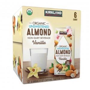 Bebida De Almendra Organica Sabor Vainilla Kirkland Signature