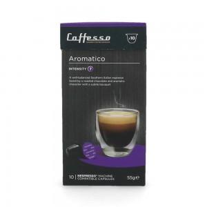 Cápsulas de Café para Máquinas Nespresso, Caffesso Aromático