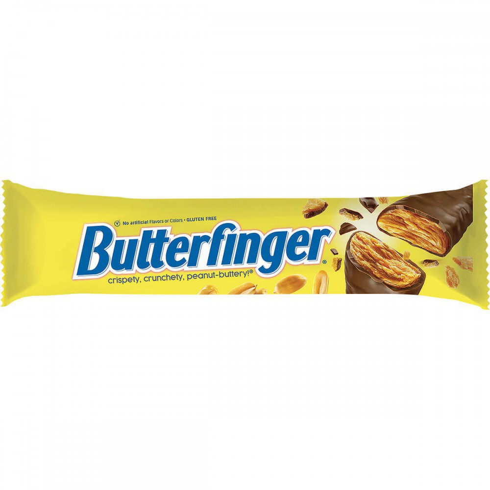 Barra de chocolate con mantequilla de maní Butterfinger