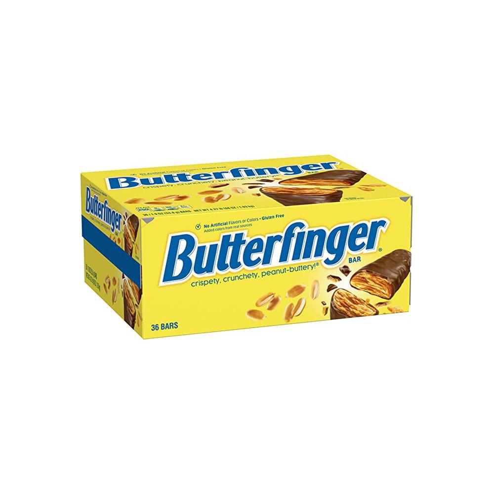 Barras de Chocolate y Mantequilla de Maní Butterfinger