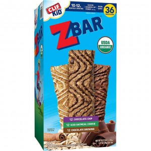 Barras Organicas de Avena Z Bar, Clif Kid Pack Variedades