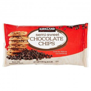 Chips de Chocolate Semi Dulces Kirkland Signature