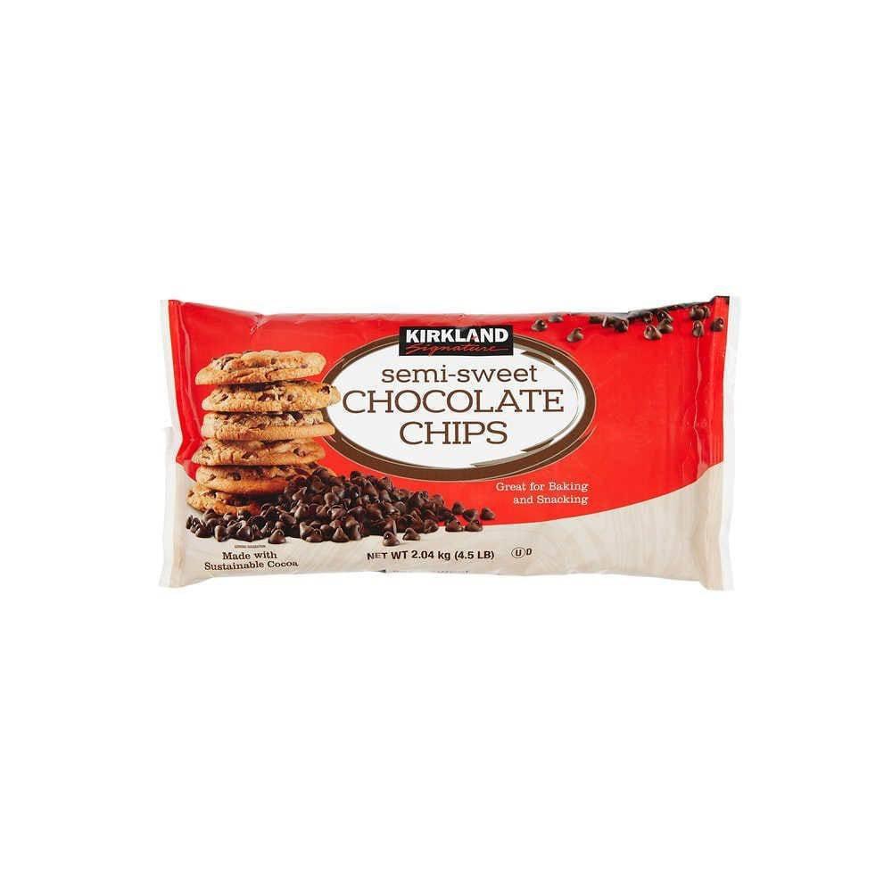 Chips de Chocolate Semi Dulces Kirkland Signature