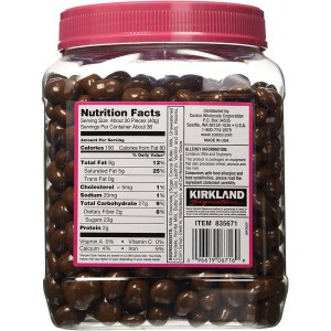 Pasas Bañadas con Chocolate Kirkland