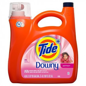 Detergente Líquido para Ropa Tide con Downy, April Fresh 4.43 Lt