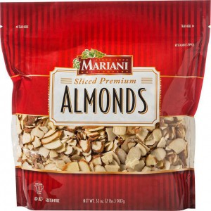 Sliced Almonds, Mariani 907g
