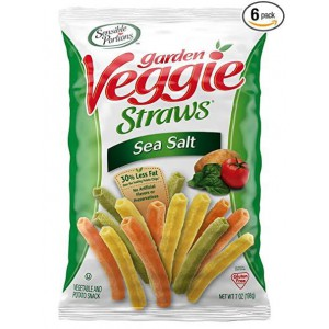 Snacks de Verduras Veggie straws Sea salt & Zesty Ranch