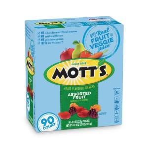 Snack Gomitas De Fruta Mott'S
