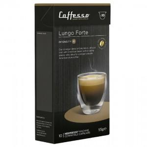 Capsulas de Café para Maquinas Nespresso, Caffesso Lungo Forte