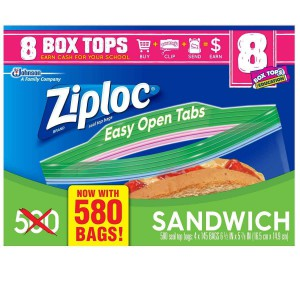 Bolsas Ziploc Sandwich Seal Top