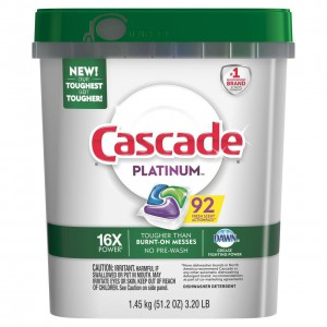 Lavavajillas Cascade Platinum