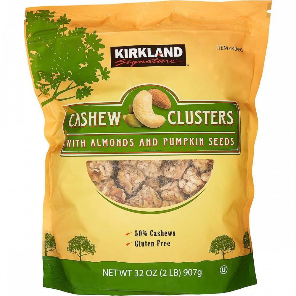 Cashew Clusters, Kirkland Signature
