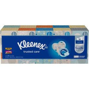 Kleenex Facial Tissue Pack 10 cajas de pañuelos