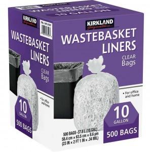 Kirkland Wastebasket Liners, Bolsas de Basura