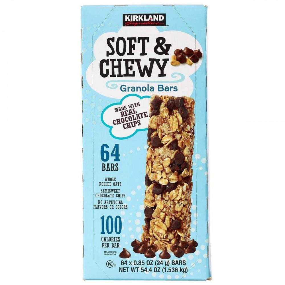 Barras de granola, Soft And Chewy, Kirkland Signature