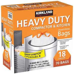 Bolsas para Limpieza y Cocina Heavy Duty Kirkland