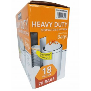 Kirkland Heavy Duty, Bolsas de Limpieza y Cocina