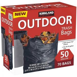 Bolsas de basura Outdoor Kirkland