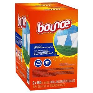 Hojas suavizantes para la secadora Bounce