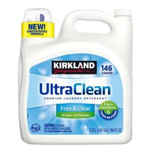 Detergente Líquido Hipoalergénico Ultra Clean Kirkland