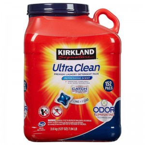 Detergente Ultra Clean Kirkland en Cápsulas