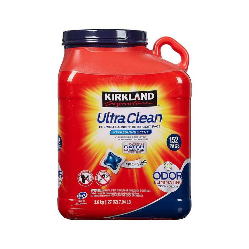Ultra Clean Pods Kirkland Signature