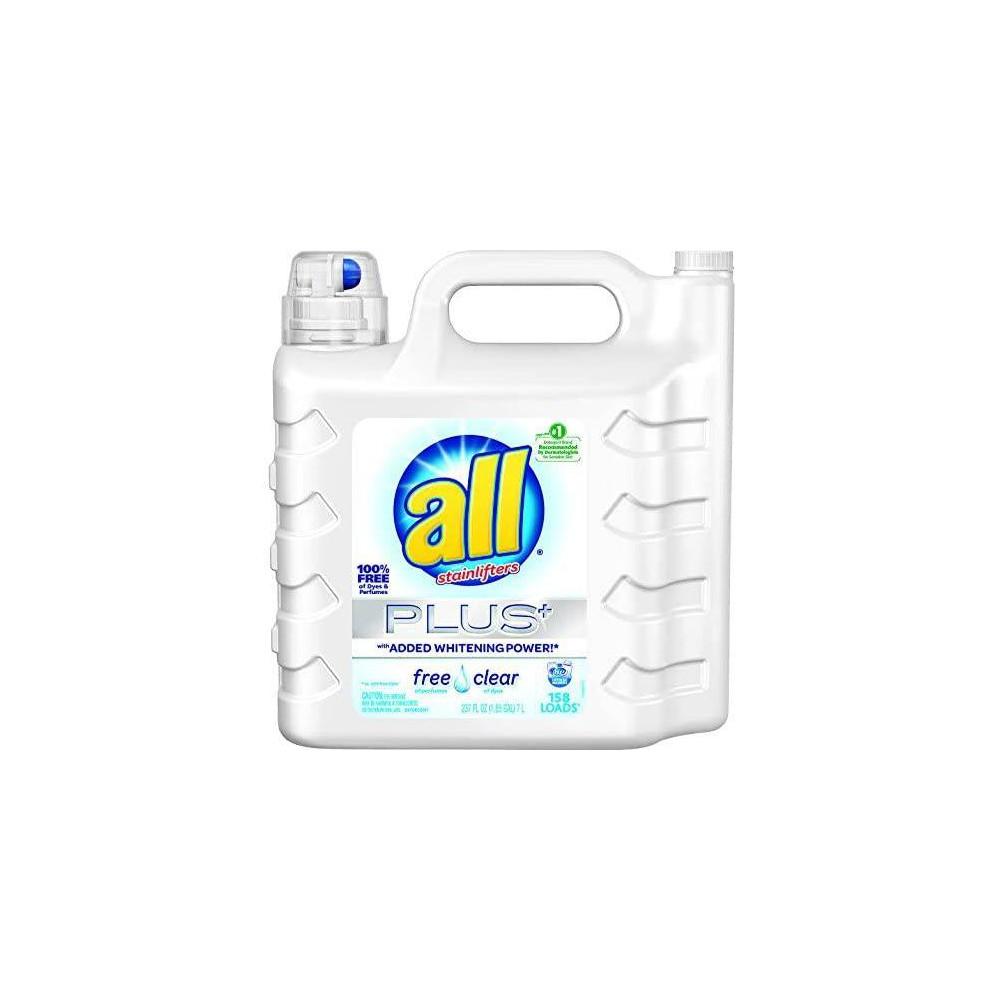 Detergente Líquido All Ultra Plus Free & Clear