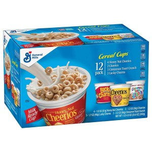 Cereal Cups General Mills 12 Pack