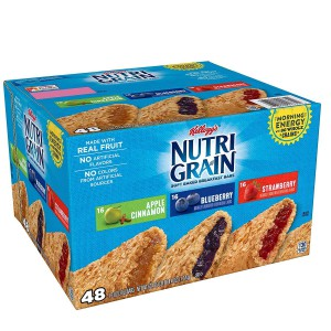 Barras de Cereal Nutri Grain Kellogg's