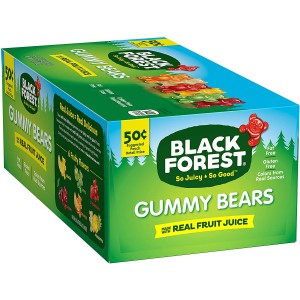 Ositos de Gomitas Gummy Bears Black Forest