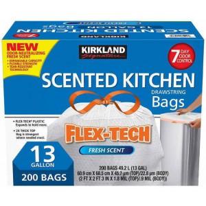 Bolsas Plásticas de Basura Perfumadas Kirkland