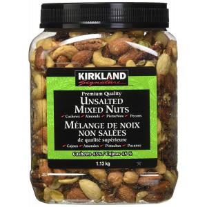 Mix de frutos secos sin sal Kirkland
