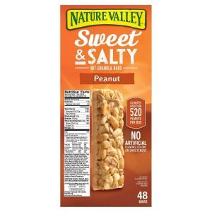 Barritas de Maní y Mantequilla de Maní Nature Valley Sweet & Salty
